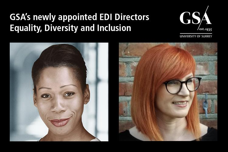 Photos of Nina Kristofferson and Dr. Cathy Sloan, GSA's EDI Directors