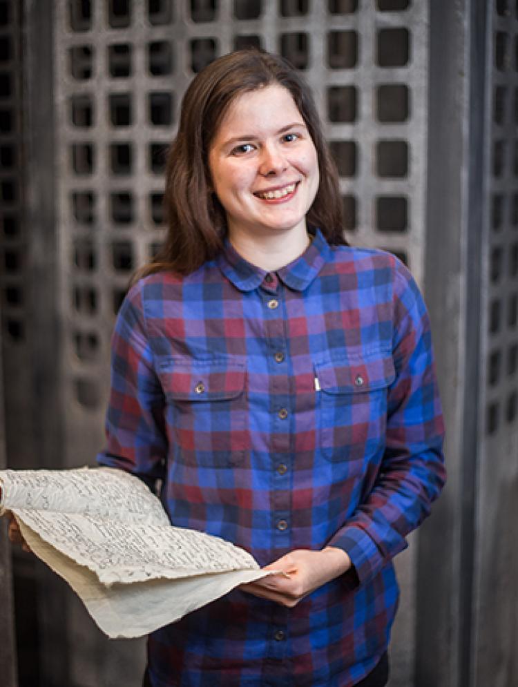 Photo of <span>Zoë</span> Rogers-Holman